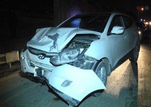 Xırdalanda taksi yol qəzasına səbəb olub