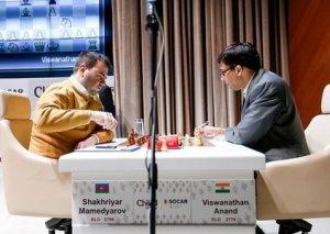 """""""Shamkir Chess 2019"""": Maqnus Karlsen turnir cədvəlində liderliyə yüksəlib - Foto"""