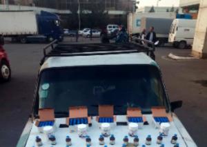 Gürcüstandan gələn avtomobildə dərman preparatları aşkarlandı