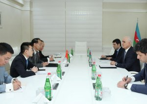 Azərbaycan-Çin iqtisadi əməkdaşlığı müzakirə edilib