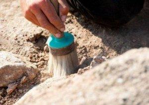 Goranboyda qədim nekropolda maddi mədəniyyət nümunələri aşkarlanıb