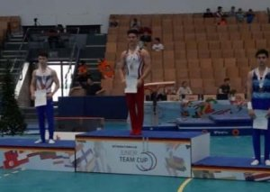 Gimnastımız Səməd Məmmədli beynəlxalq turnirdə bürünc medal qazandı