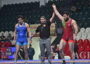 Şərif Şərifov Avropa Çempionatında qızıl medal qazanıb