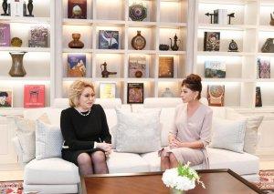 Birinci vitse-prezident Mehriban Əliyeva Rusiya Federasiya Şurasının sədri Valentina Matviyenko ilə görüşüb