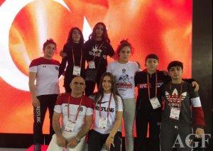 Güləşçilərimiz Türkiyədə 11 medal qazanıb