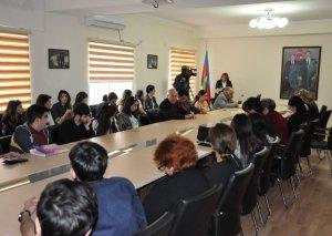 Xoreoqrafiya Akademiyasında Xalq yazıçısı İsmayıl Şıxlının 100 illiyi ilə bağlı elmi sessiya təşkil olunub