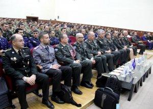 NATO-nun Beynəlxalq Hərbi Qərargahının Baş direktoru Hərbi Akademiyada olub