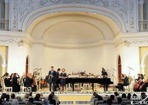 Filarmoniyada Frankofoniya Həftələrinin bağlanışı qeyd edilib
