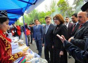 Qırğızıstanda türk dövlətlərinin etnofestivalı keçirilib