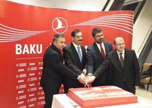 Ankara-Bakı-Ankara istiqamətində birbaşa uçuşların rəsmi açılış mərasimi olub