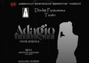 """Pantomima Teatrı həftəsonu """"Adagio""""nu göstərəcək"""