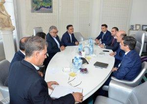 Əbülfəs Qarayev İranın Mədəniyyət və İslami Əlaqələr Təşkilatının sədri ilə görüşüb