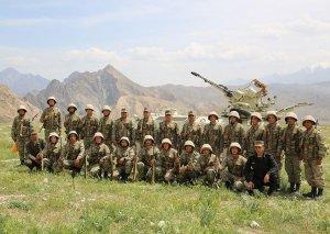 """Naxçıvan Qarnizonu qoşunlarında """"Ən yaxşı zenit-raket artilleriya batareyası"""" adı uğrunda yarış keçirilib"""