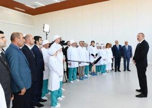 Prezident İlham Əliyev: Biz düzgün yolla inkişaf edirik və dinamik inkişaf bundan sonra da mütləq gedəcək
