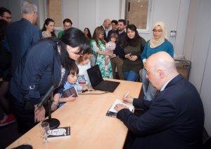 Çingiz Abdullayevin ''Şübhəsiz Metamorfoz'' kitabı fransız oxuyuculara təqdim olunub