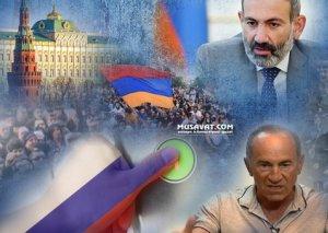"""Ermənistanda əks-inqilab havası: Kreml """"düyməyə"""" basır, İrəvan qarışır"""