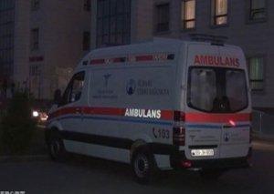 Neftçalada mikroavtobus yük maşınına çırplıb, 4 nəfər ölüb, 2 yaralı var