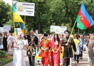 Azərbaycanlıların rəqs qrupu Kiyevdə beynəlxalq uşaq festivalında təmsil olunub