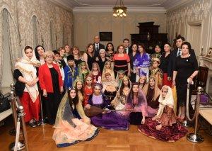 Tbilisidə Azərbaycanın milli geyimləri nümayiş etdirilib