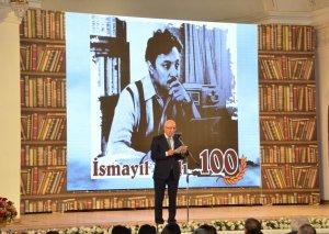 Xalq yazıçısı İsmayıl Şıxlının 100 illiyinə həsr edilmiş tədbir keçirilib