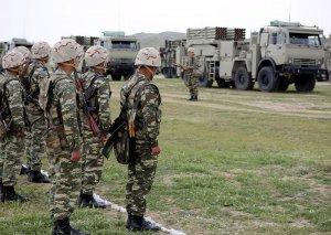 Əlahiddə Ümumqoşun Ordunun artilleriyaçıları döyüş atışları icra ediblər