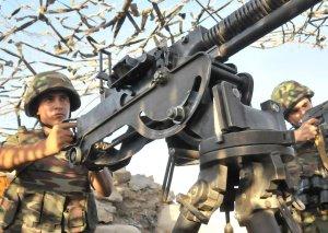 Erməni silahlı qüvvələri iriçaplı pulemyotlarla atəşkəsi pozub