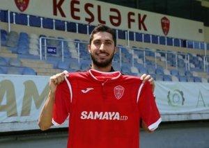 """""""Keşlə"""" argentinalı futbolçu ilə 1 illik müqavilə imzalayıb"""