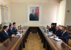 Baş prokuror Türkiyənin Baş Ombudsmanı ilə görüşüb