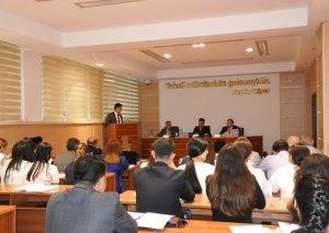 Ramil Usubovun sədrliyi ilə BDU-da buraxılış işlərinin müdafiəsi keçirilib