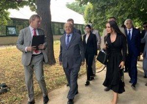 Heydər Əliyev Fondunun vitse-prezidenti Leyla Əliyeva Moskvada Azərbaycan Mədəniyyəti Günündə iştirak edib