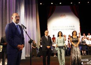 III Respublika Xalq Teatrları Festivalı başa çatıb