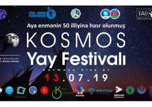 """Şamaxıda """"Kosmos yay festivalı"""" keçirilib"""