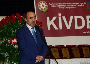 Əli Həsənov: Medianın inkişafı Azərbaycanın bugünkü iqtisadi, sosial, siyasi, mədəni inkişafına tam adekvatdır