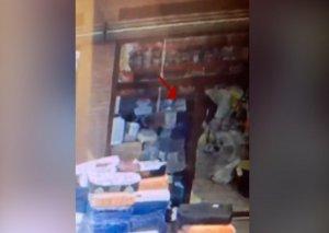Oğurluq etdiyi mağazanı yandıran Ağdam sakini saxlanıldı