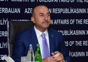 """Çavuşoğlu: Bakı-Tbilisi-Qars Asiya üçün """"Avropaya pəncərə""""dir"""