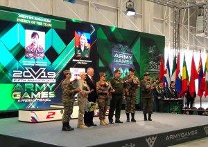 """""""Beynəlxalq Ordu Oyunları - 2019"""" yarışlarında hərbi qulluqçularımız mükafatlandırılıb"""