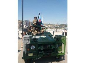 Azərbaycan Ordusunun tam modernləşdirilmiş döyüş maşını