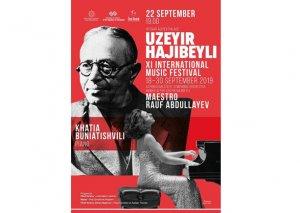 Üzeyir Hacıbəyliyə həsr olunmuş XI Beynəlxalq Musiqi Festivalı keçiriləcək