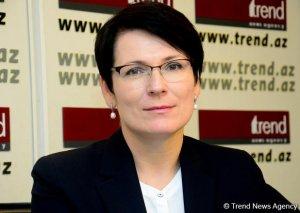 Lina Vaytkyaviçene: Azərbaycan iqtisadiyyatında uğurlu islahatların aparılması nəticəsində yüksək artım müşahidə olunur
