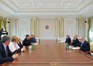 Prezident İlham Əliyev Rusiyanın Sverdlovsk vilayətinin qubernatorunu qəbul edib