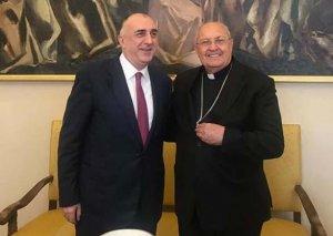 Xarici İşlər naziri Elmar Məmmədyarov Vatikan Şərq Kilsələrinin Konqreqatı ilə görüşüb