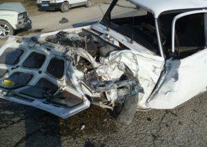Ağsuda dəhşətli qəza, 1 nəfər öldü, 4 nəfər ağır yaralandı