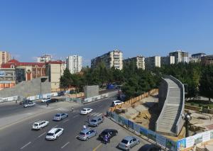 Bakıda 7 ərazidə yerüstü və yeraltı piyada keçidləri inşa edilir - SİYAHI