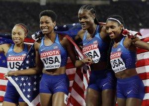 Amerikalı idmançılar qaçış üzrə dünya çempionu olublar