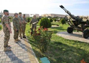 Əlahiddə Ümumqoşun Orduda silahlara nəzarət inspeksiyası keçirilib