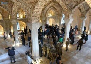"""Erməni işğalçıları Şuşa məscidinin """"açılışını"""" etdilər:"""