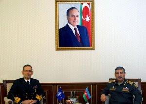 Zakir Həsənov NATO/SHAPE Tərəfdaşlıq İdarəsinin rəisi ilə görüşüb