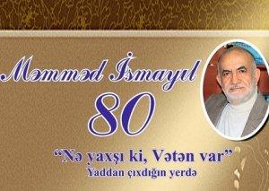 Ustad şair Məmməd İsmayılın 80 illik yubileyi ilə bağlı tədbir keçiriləcək
