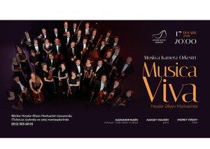 """Heydər Əliyev Mərkəzində """"Musica Viva"""" Moskva Kamera Orkestrinin konserti keçiriləcək"""