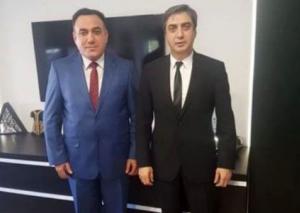 """Emin Həsənli """"Polad Ələmdar""""la görüşdü"""